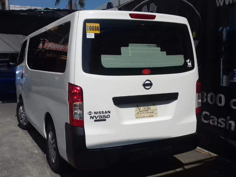2015 Nissan NV350 Urvan - Rear View