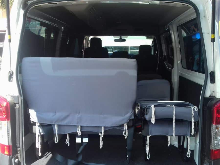 2015 Nissan NV350 Urvan - Interior Rear View