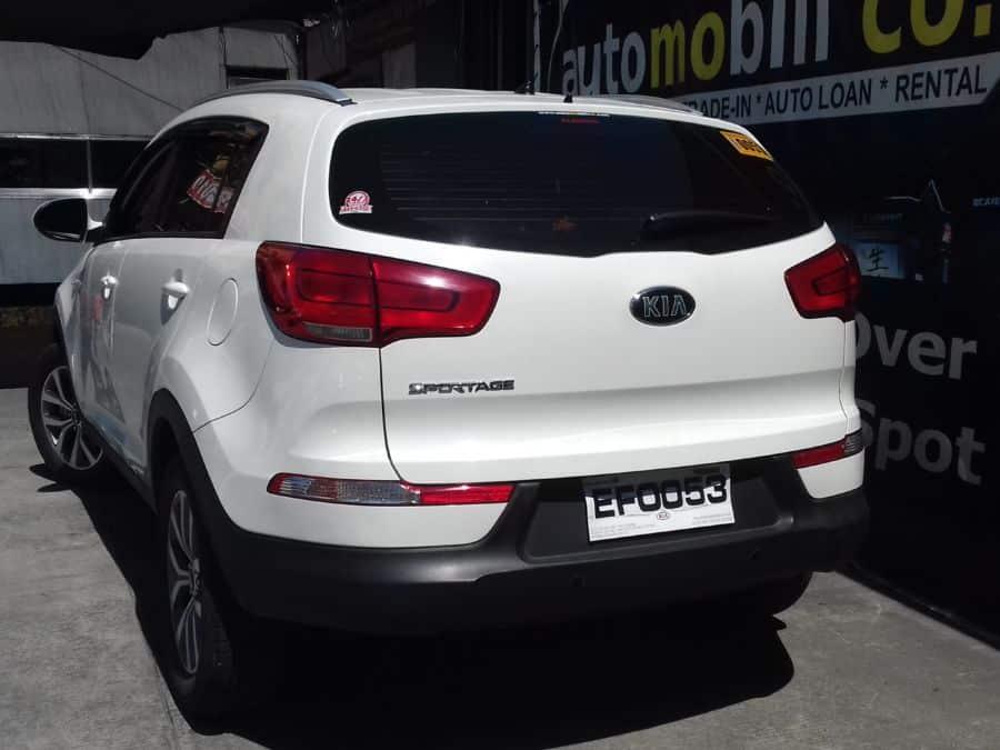 2015 Kia Sportage - Rear View