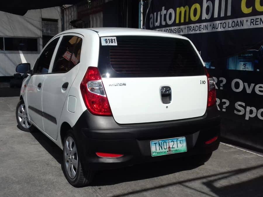 2012 Hyundai i10 - Rear View