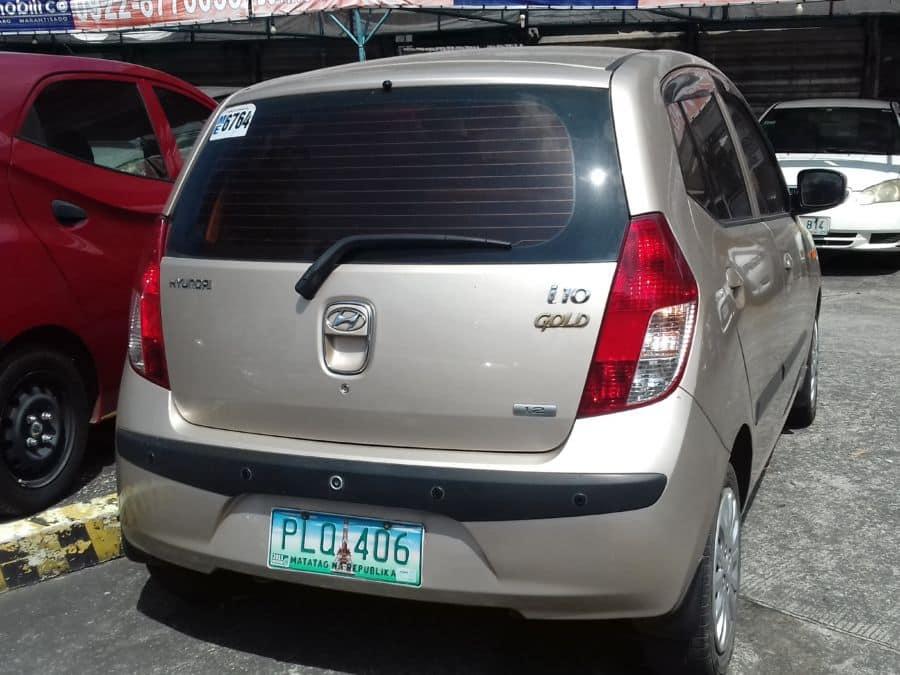 2010 Hyundai i10 - Rear View