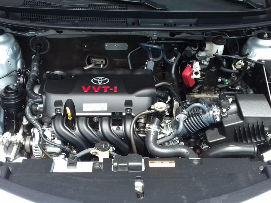 2014 Toyota Vios - Interior Rear View