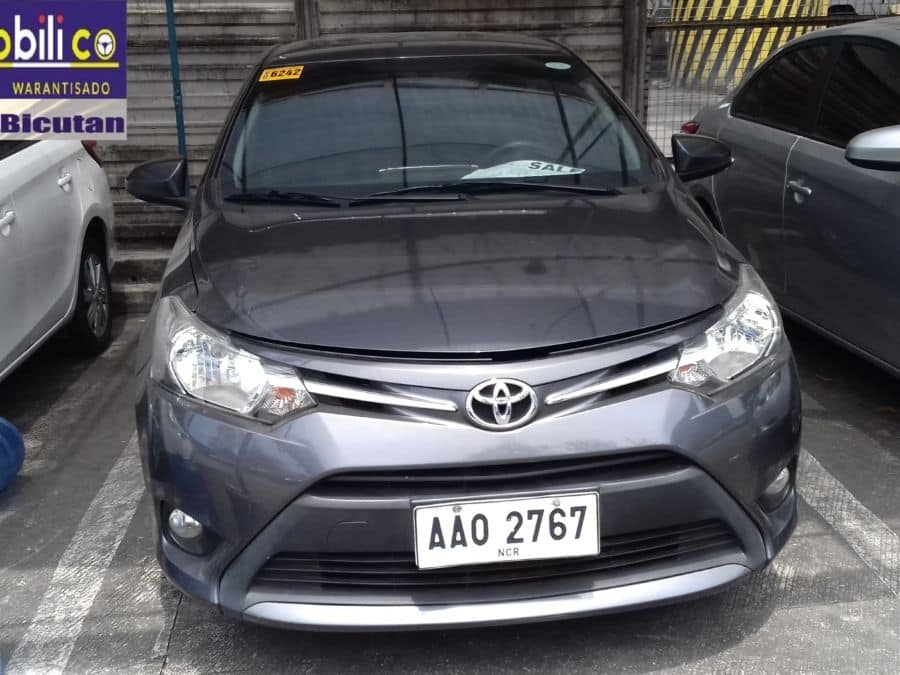 2014 Toyota Vios - Rear View