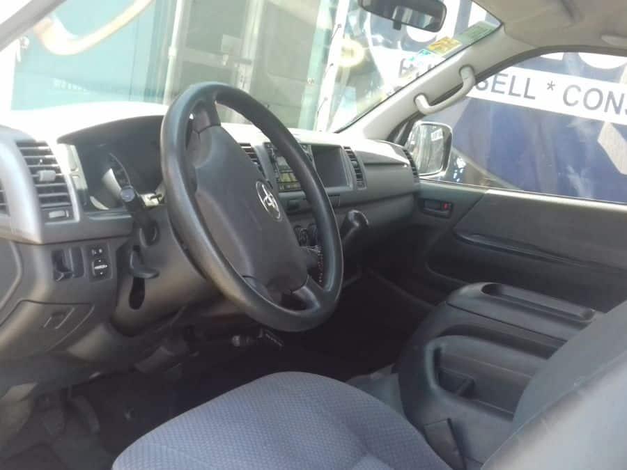 2012 Toyota Grand Hiace - Interior Rear View