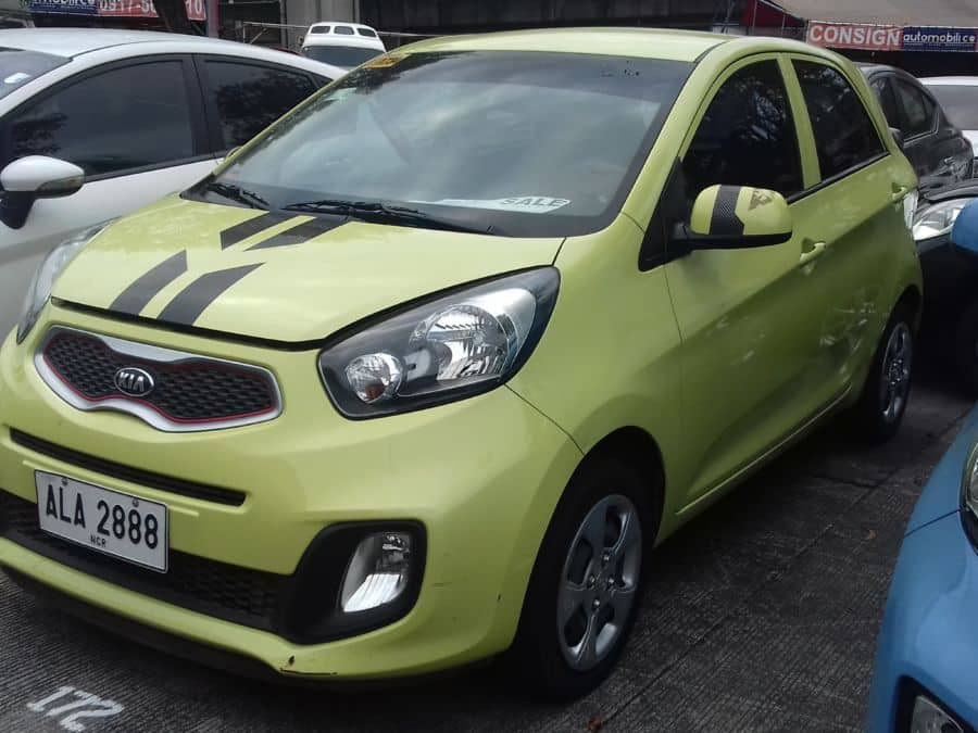 2015 Kia Picanto - Left View