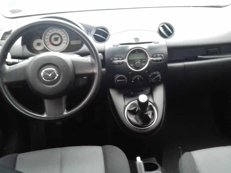 2011 Mazda 2 - Interior Rear View