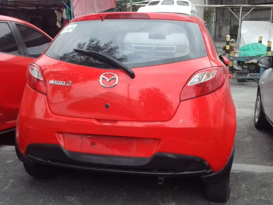 2011 Mazda 2 - Rear View