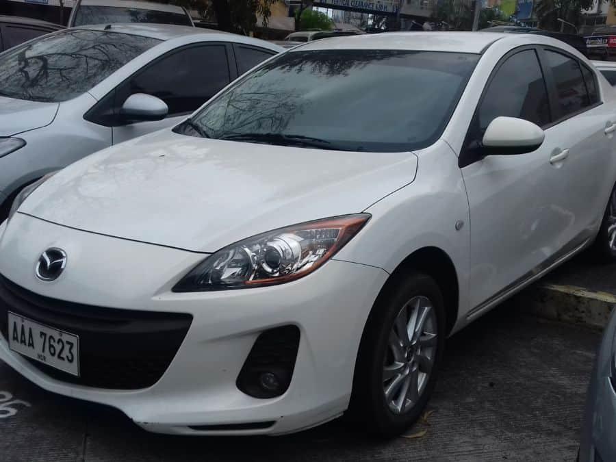 2014 Mazda 3 - Left View