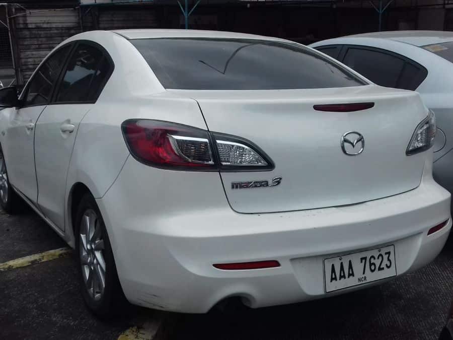 2014 Mazda 3 - Rear View