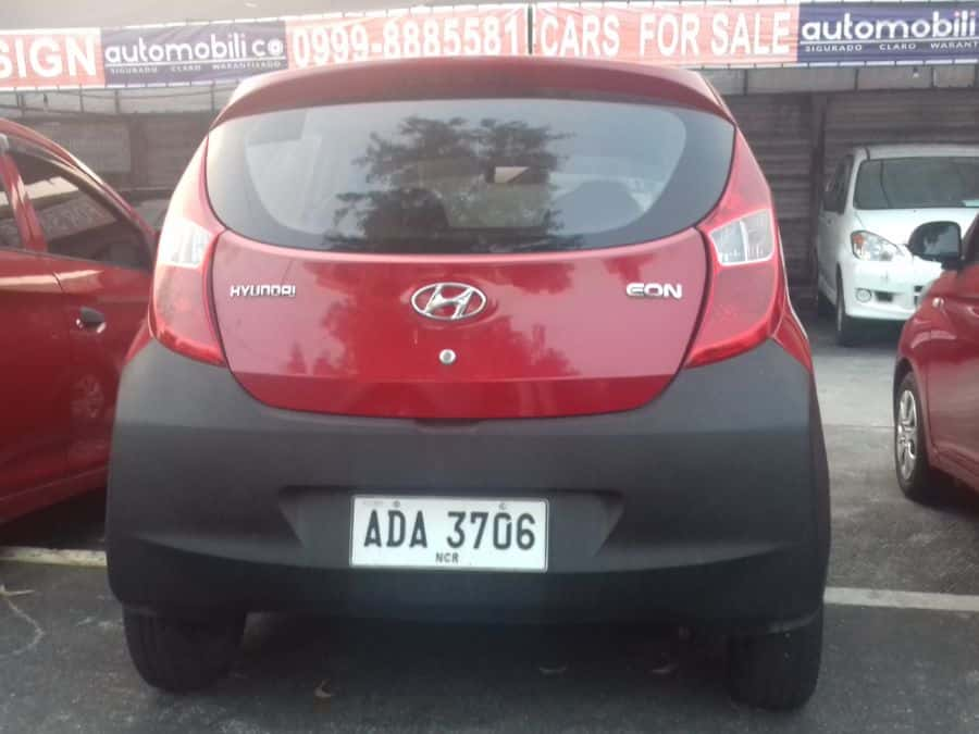 2014 Hyundai Eon - Rear View