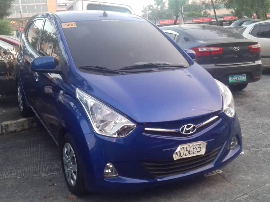2015 Hyundai Eon - Right View