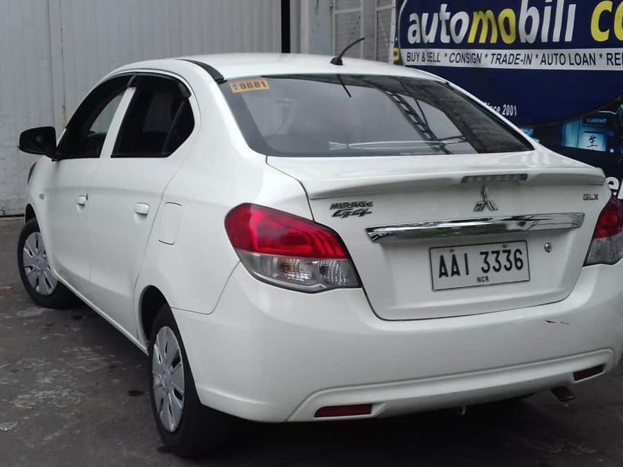 2014 Mitsubishi Mirage G4 - Rear View