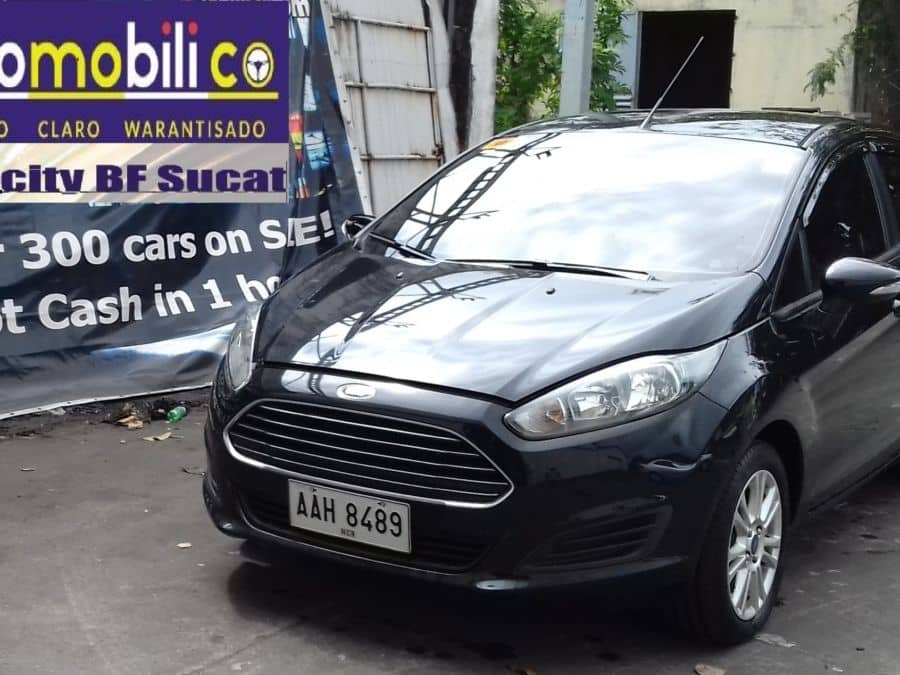 2014 Ford Fiesta - Front View