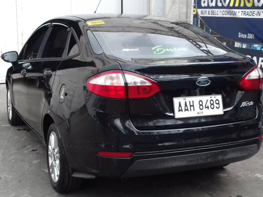 2014 Ford Fiesta - Rear View
