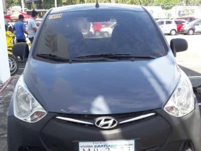 2015 Hyundai Eon - Front View