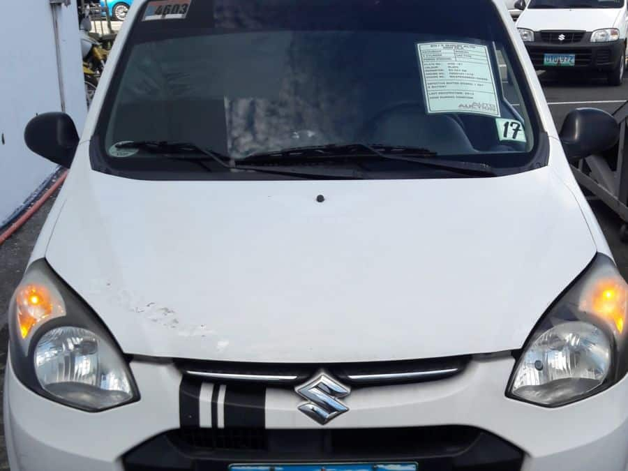 2013 Suzuki Alto - Front View