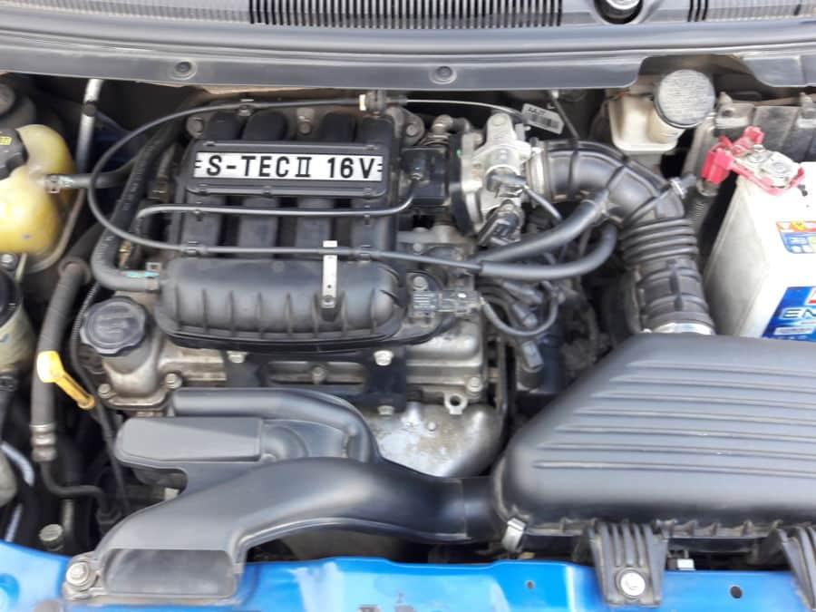 2012 Chevrolet Spark - Interior Rear View