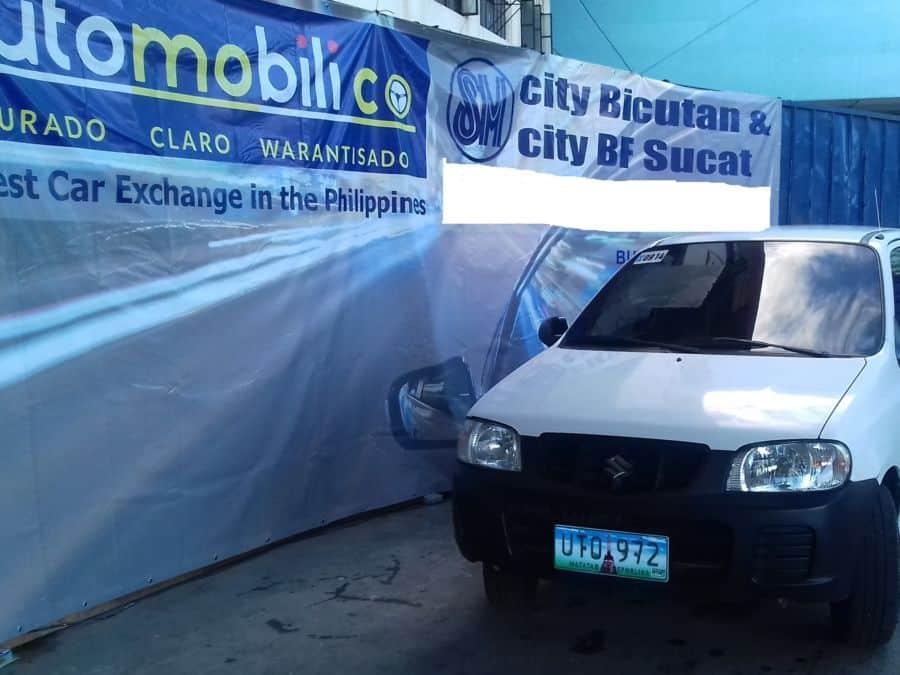 2012 Suzuki Alto - Front View