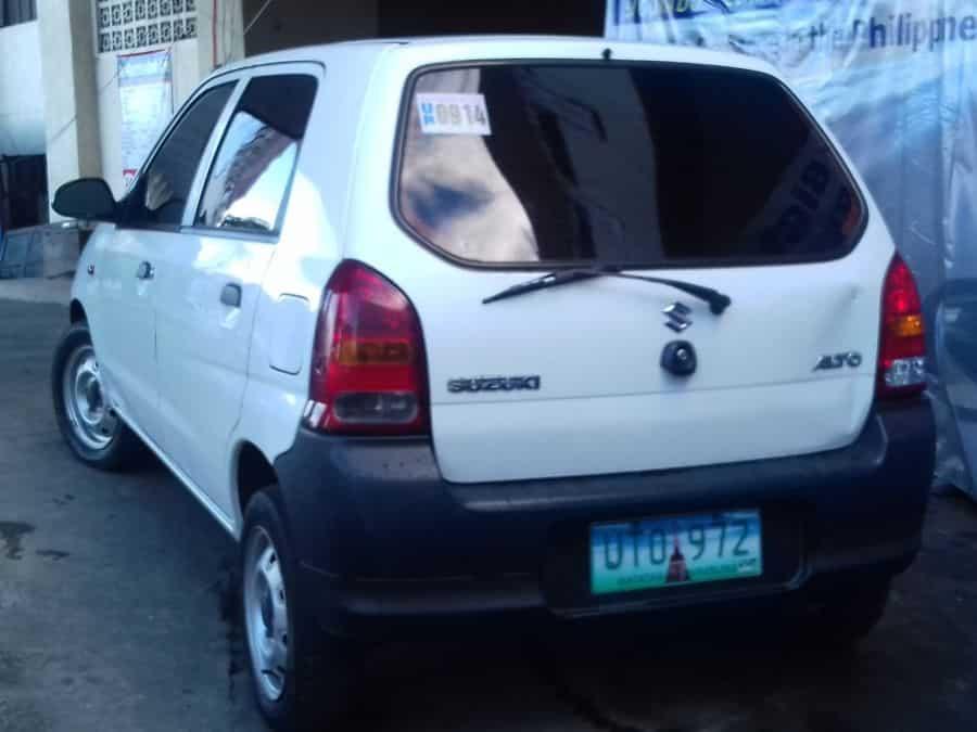 2012 Suzuki Alto - Rear View