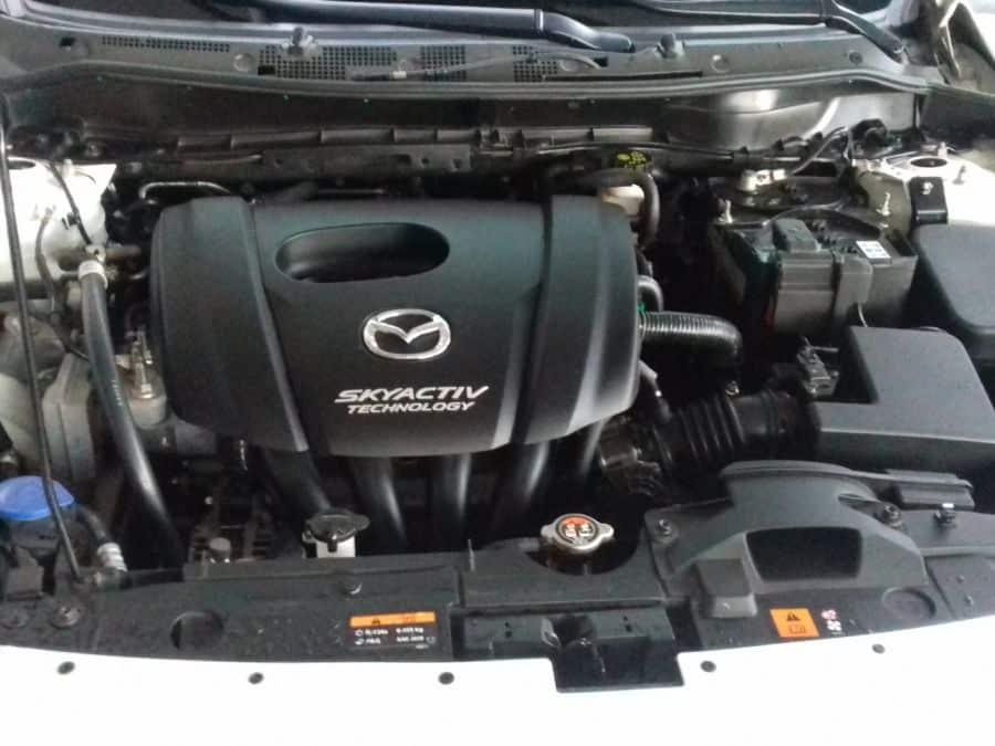2016 Mazda 2 - Interior Rear View
