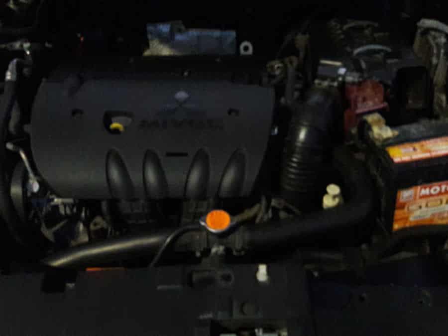 2011 Mitsubishi Lancer Ex - Interior Rear View