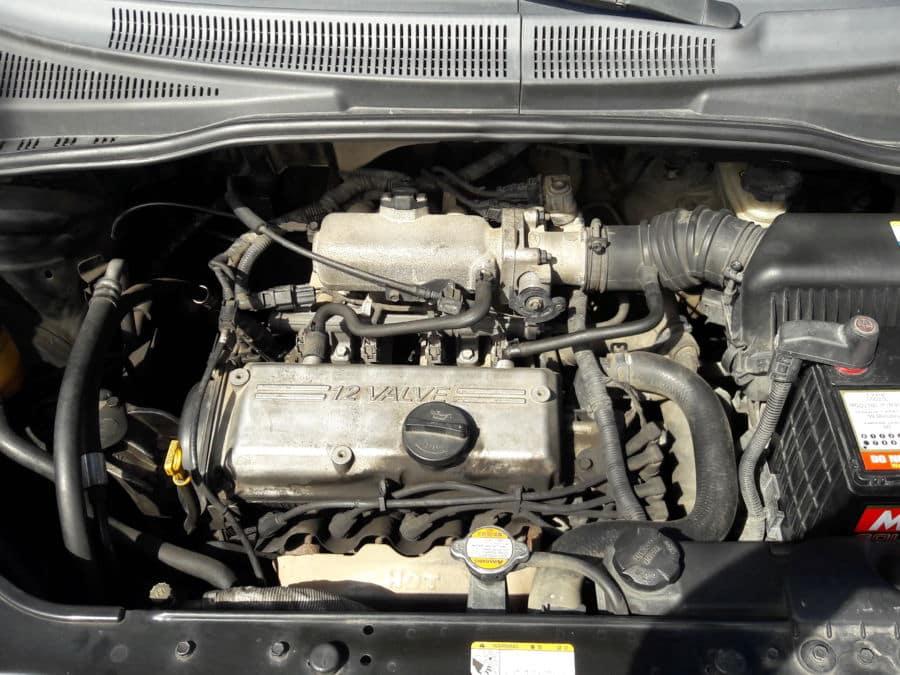 2010 Hyundai Getz - Interior Rear View