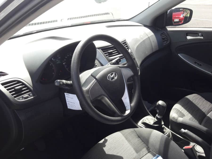 2015 Hyundai Accent - Interior Front View