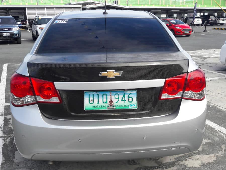2012 Chevrolet Cruze - Rear View