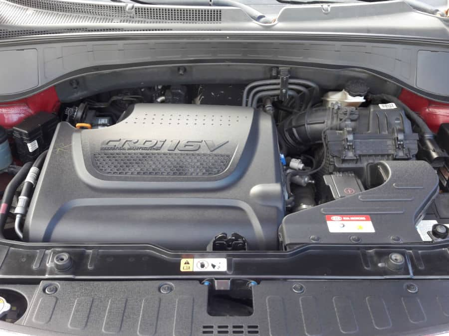 2014 Kia Sorento - Interior Rear View