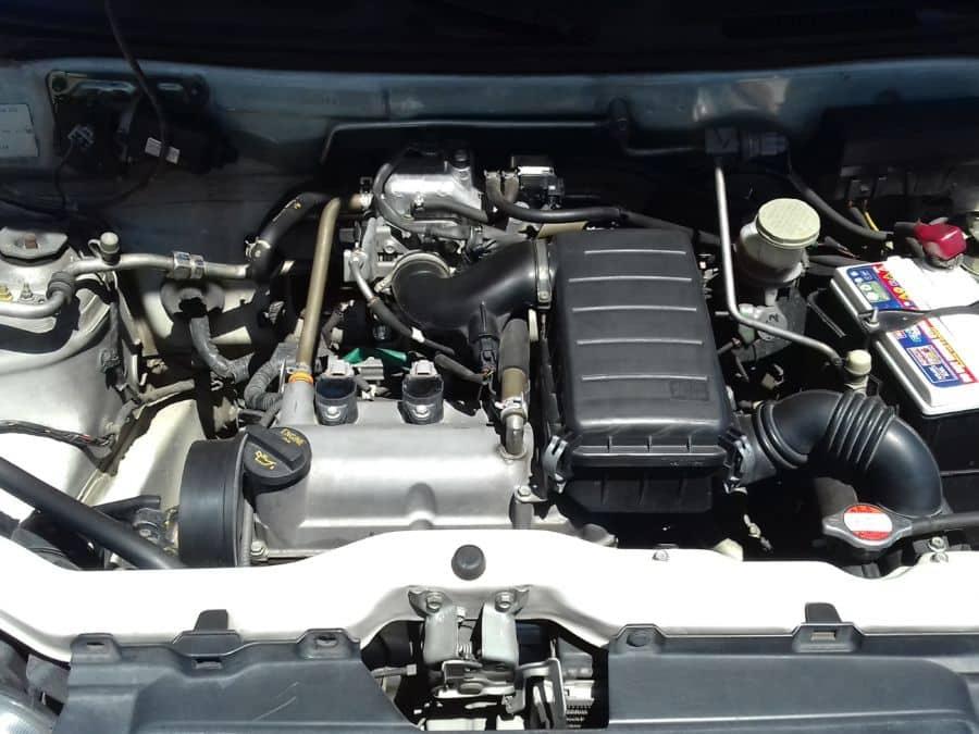 2012 Suzuki Alto - Interior Rear View