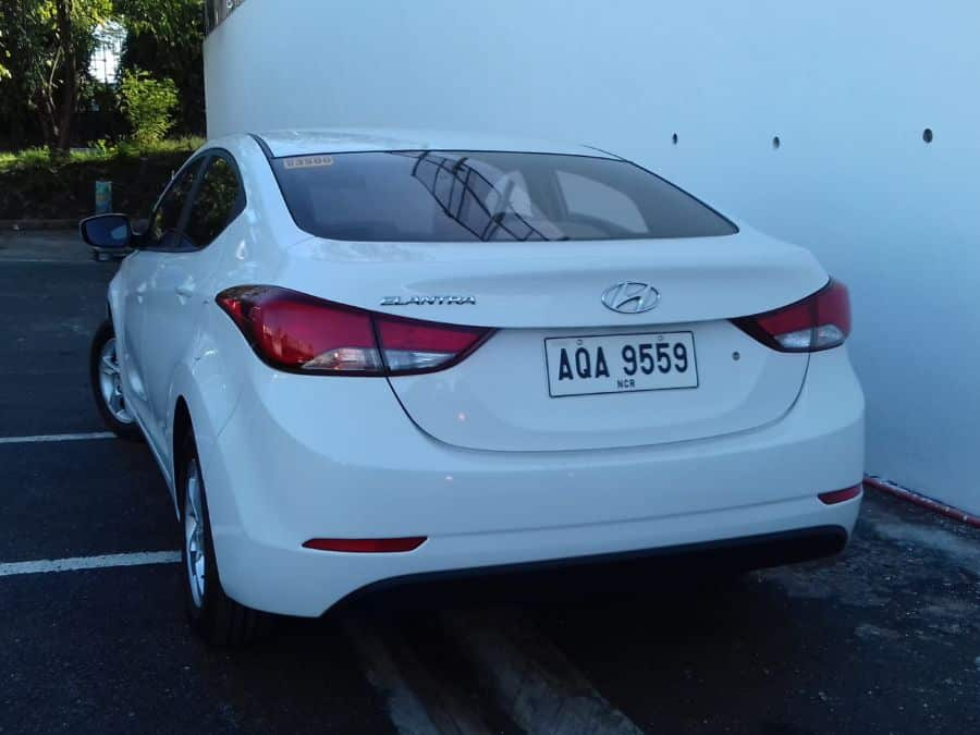 2015 Hyundai Elantra - Rear View