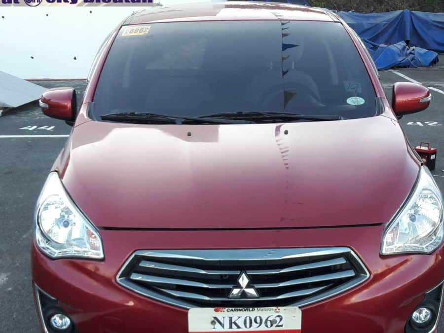 2015 Mitsubishi Mirage - Front View