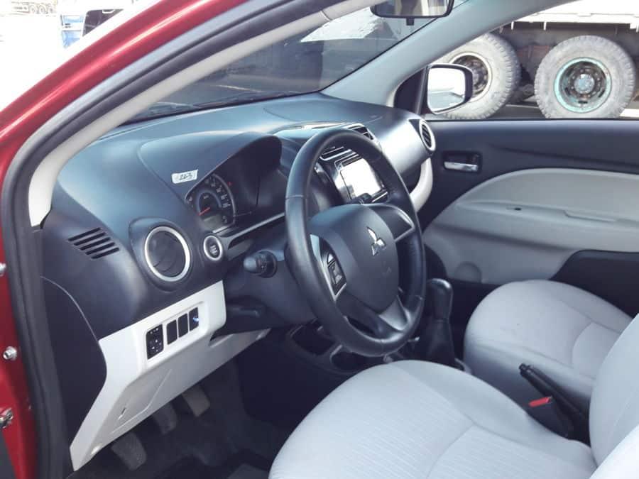 2015 Mitsubishi Mirage - Interior Front View