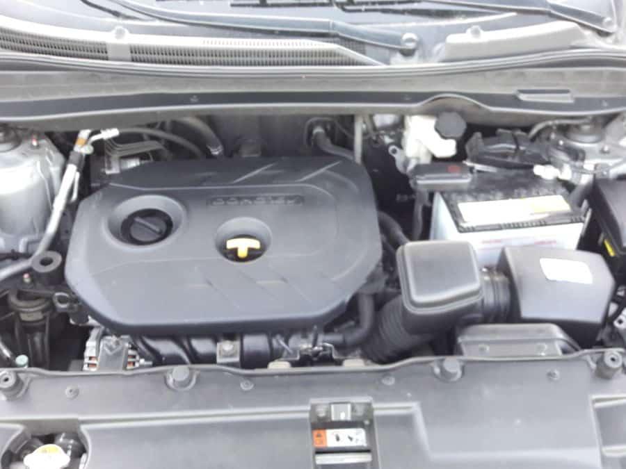 2015 Hyundai Tucson - Interior Rear View