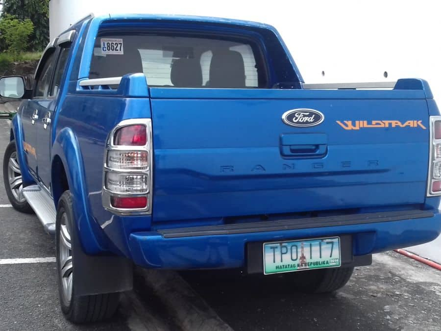 2011 Ford Ranger - Rear View