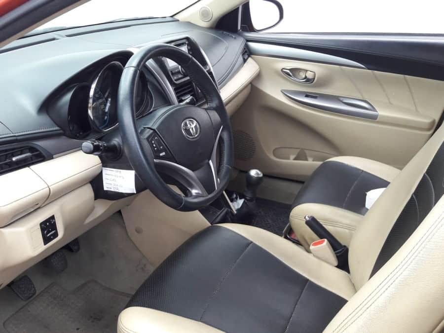 2014 Toyota Vios - Interior Front View