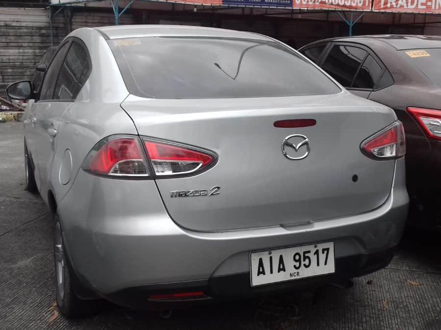 2015 Mazda 2 - Rear View