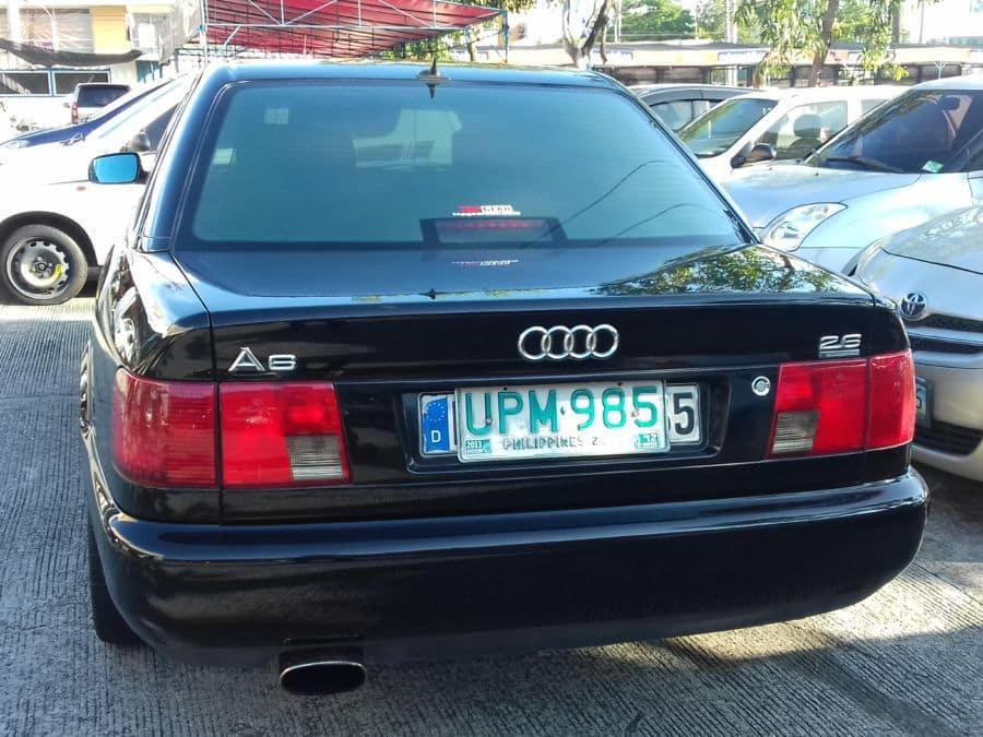 1997 Audi A6 - Rear View