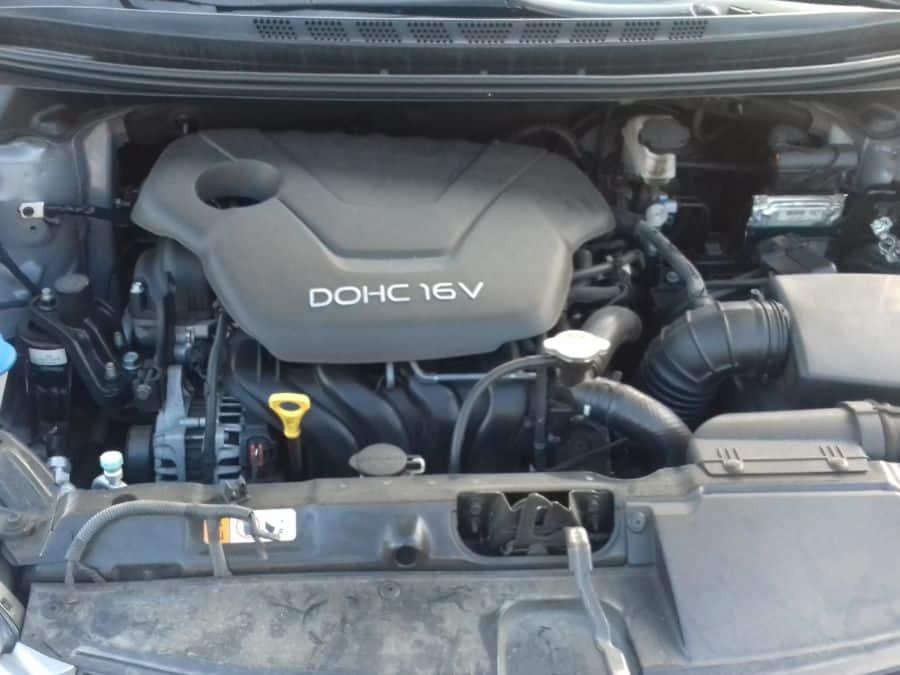 2014 Hyundai Elantra - Interior Rear View