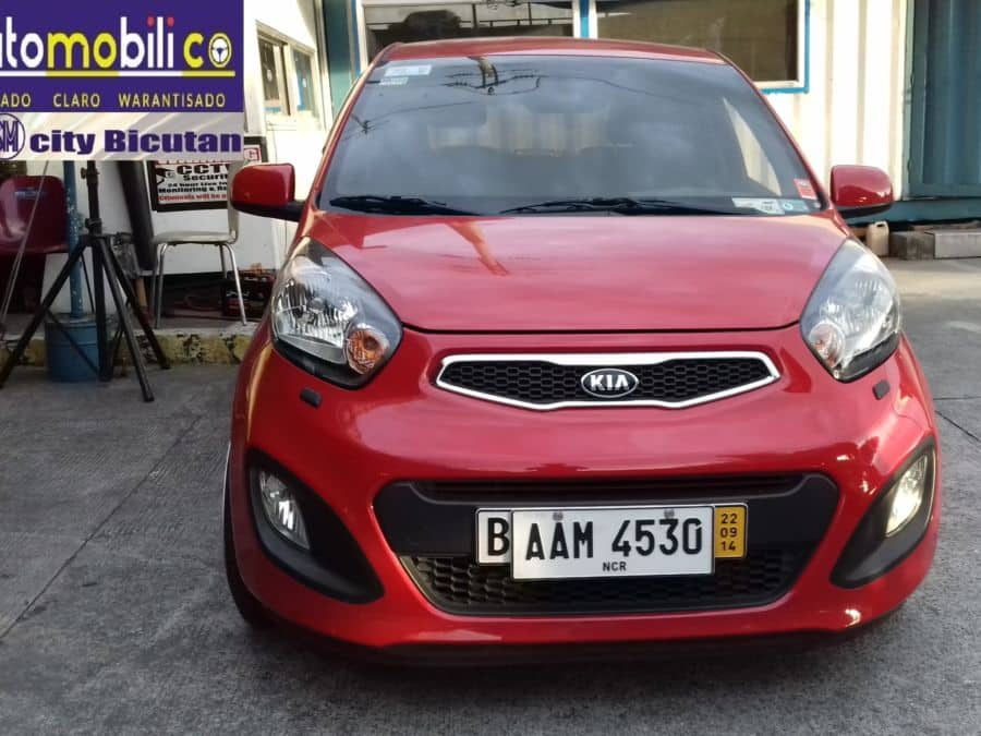 2014 Kia Picanto - Front View
