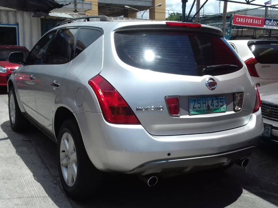 2008 Nissan Murano - Rear View