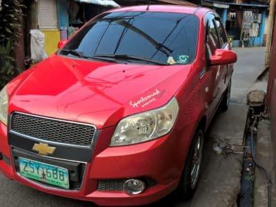 2008 Chevrolet Aveo5 - Front View