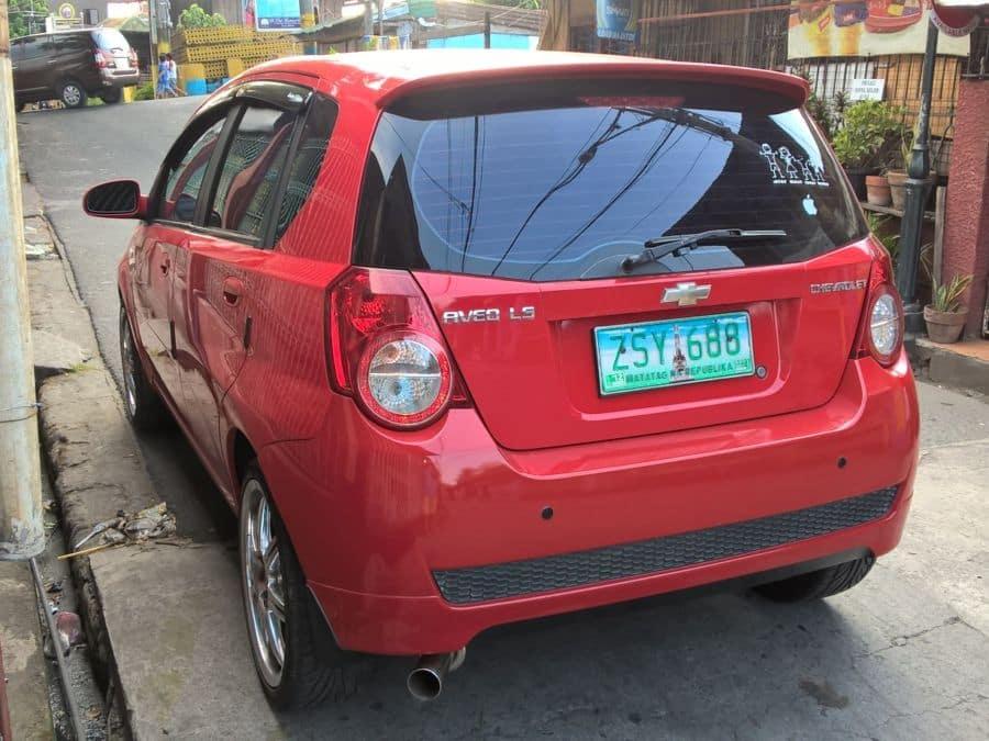 2008 Chevrolet Aveo5 - Left View