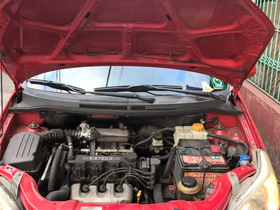 2008 Chevrolet Aveo5 - Interior Rear View
