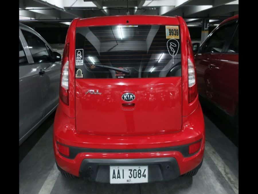 2014 Kia Soul - Rear View