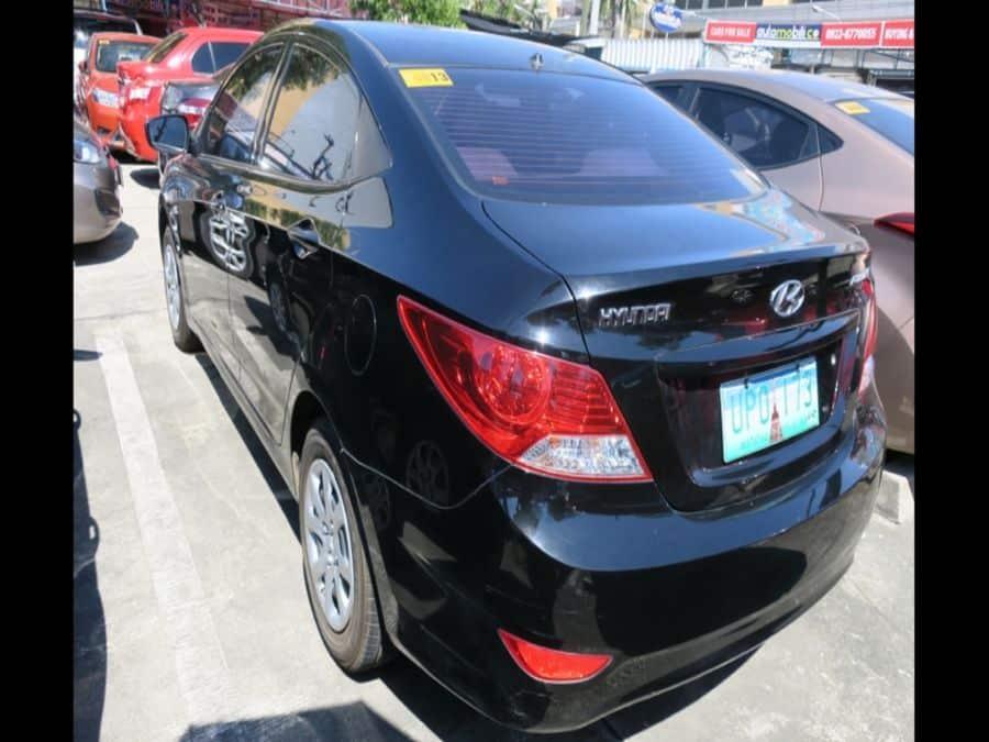 2010 Hyundai Accent - Rear View