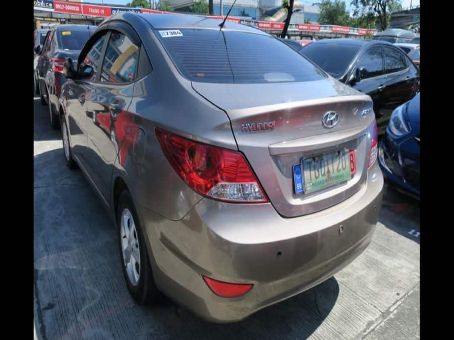 2011 Hyundai Accent - Rear View