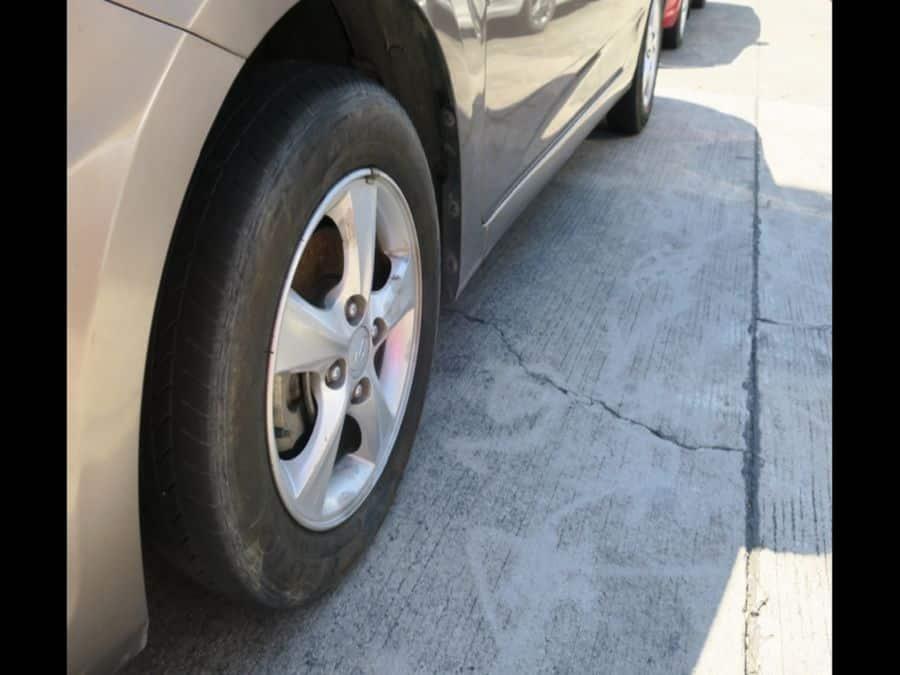 2011 Hyundai Accent - Interior Rear View