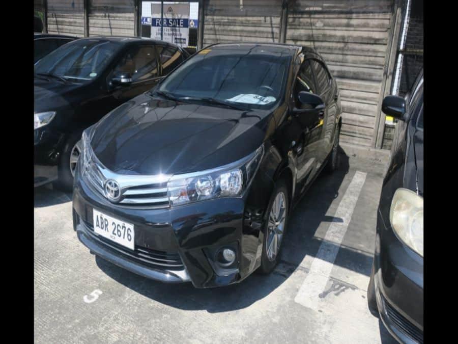 2015 Toyota Corolla Altis G - Left View