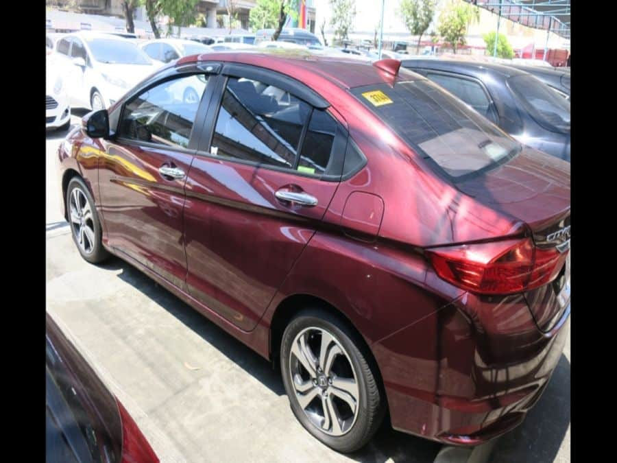 2016 Honda City E - Rear View
